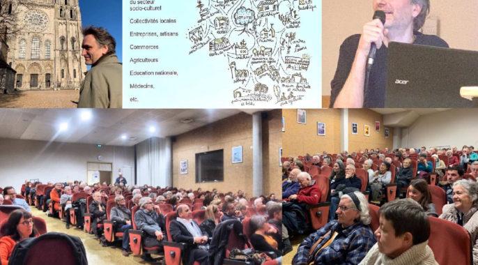 Conférence-débat «Réussir la Transition Ecologique» Gregory Derville le 6 février
